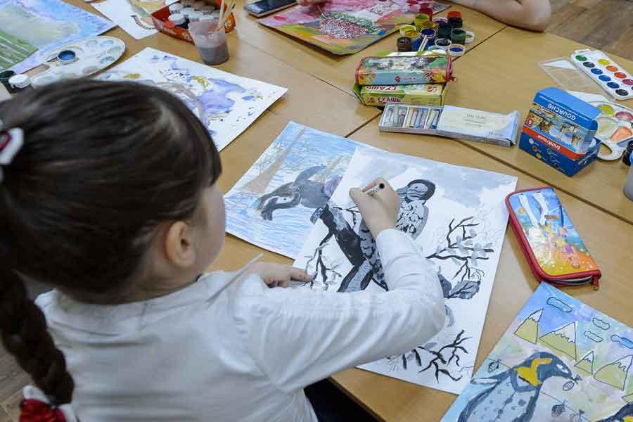 В детско-юношеском центре занимаются более 800 воспитанников.