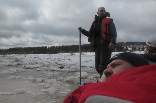Ледяные заторы чуть не стоили туристам жизни