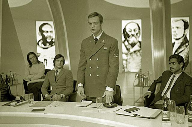 Донатас Банионис в фильме «Солярис». 1972 год.