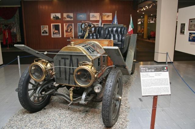 Автомобиль-рекордсмен марки «Itala 35/45HP». В 2007 году, в честь 100-летия гонок, он прошёл по маршруту Пекин-Париж второй раз и снова через Пермь. На сей раз без поломок.