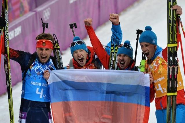 Олимпийская сборная России по биатлону