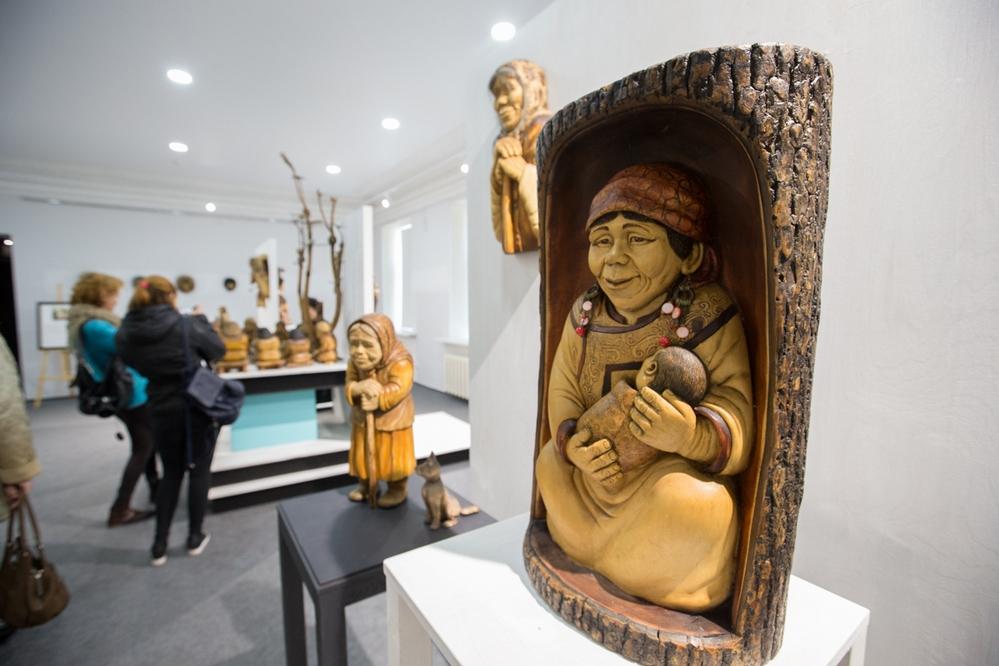 Автор выставки точно передал быт лесных жителей