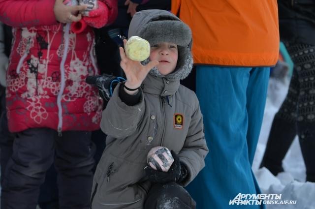 Дети с радостью участвовали во всех конкурсах.