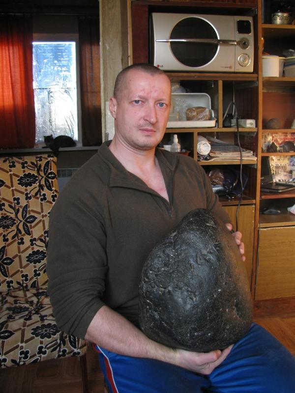 Алексей Кривенко: за некоторые метеориты коллекционеры готовы платить баснословные суммы.
