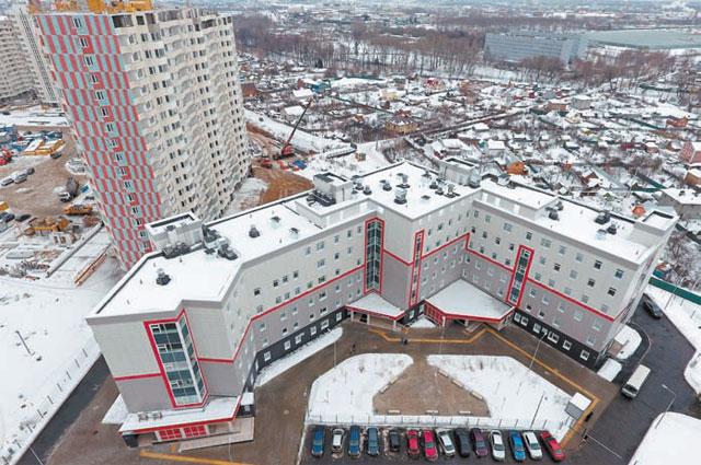 В Некрасовке открылась новая поликлиника.