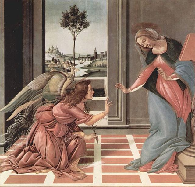 Благовещение, Фра Беато Анжелико, 1430 1432, Прадо