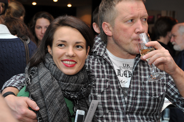 Надежда Борисова и Алексей Кравченко.