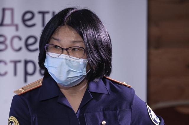 Баярма Самданова, инспектор Следственного управления СК РФ по РБ.