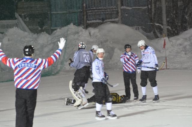 Не всё получилось на этот раз у хоккеистов «Мурмана».