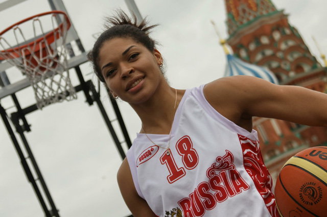 Баскетболистка Катерина Кейру