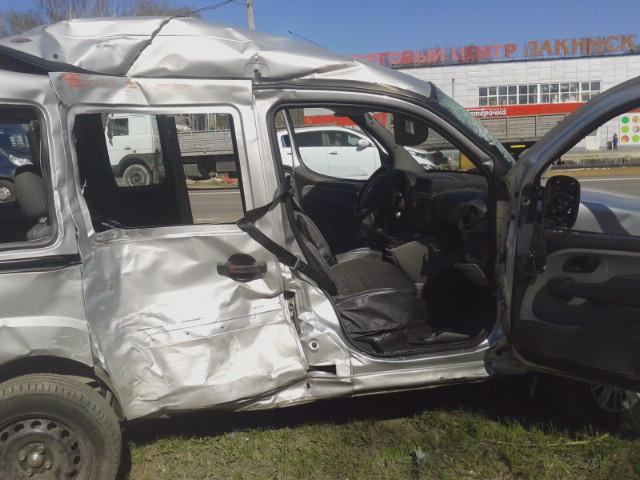 авария в Лакинске