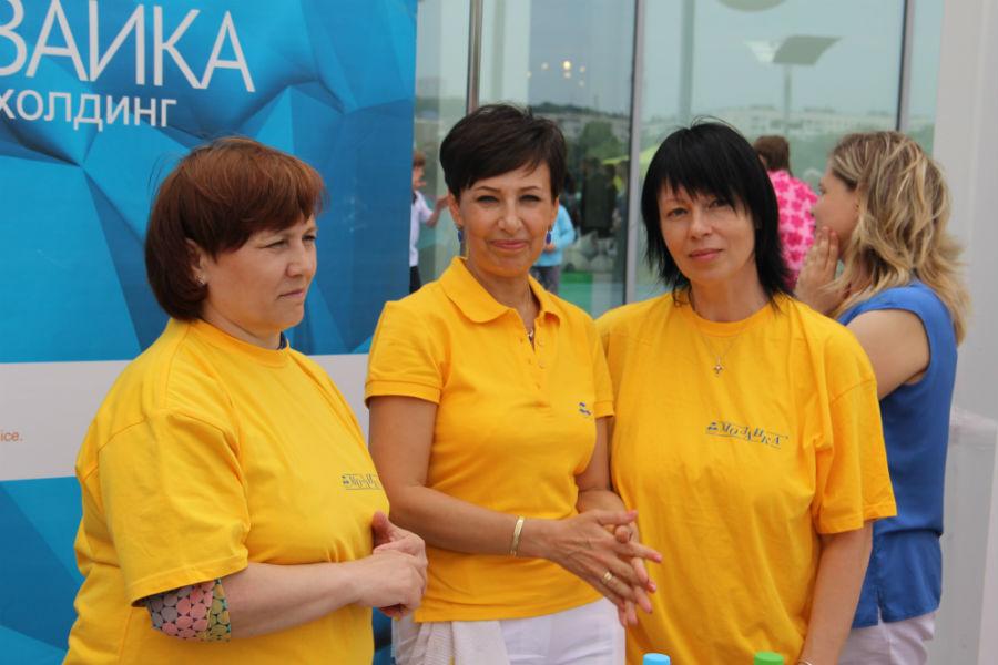 Победители фестиваля – команда медиахолдинга «Мозаика».