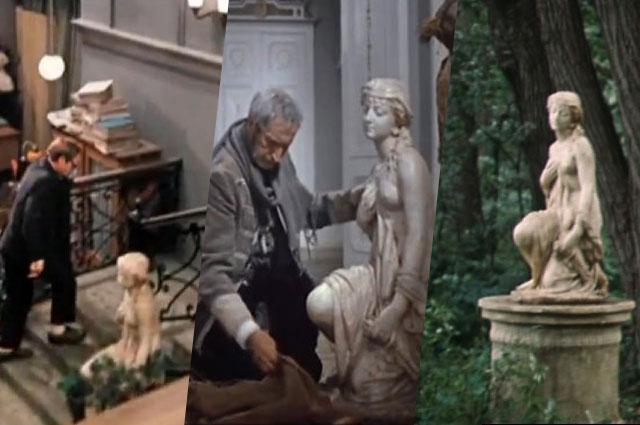 Прасковья Тулупова - та самая знаменитая скульптура, которая мелькает в целом ряде советских фильмов.