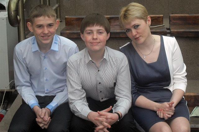 Димка, Сашка и Елена.