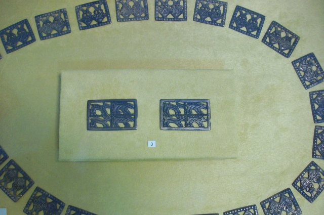 Коллекция украшений из экспозиции Сургутского краеведческого музея