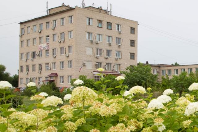 Астраханская областная клиническая психиатрическая больница, где Ольга работает.
