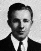 Юный Брэдбери в 1938 году, снимок из школьного выпускного альбома