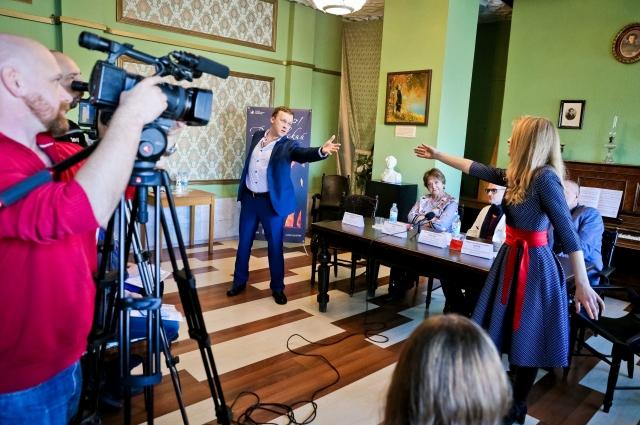Пресс-конференция по мюзиклу «Дубровский».