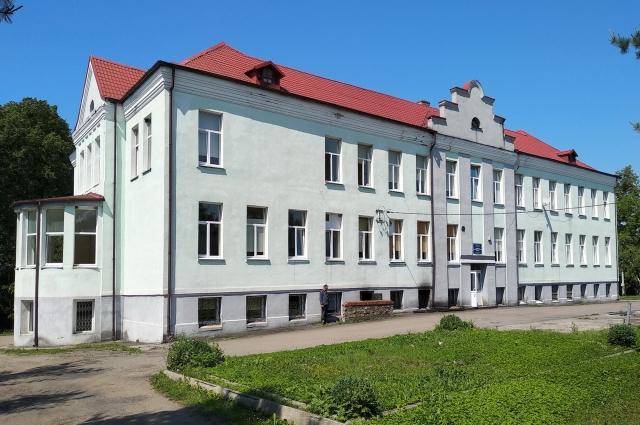 Историческое здание ЦРБ.