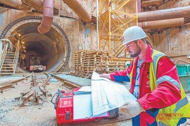 На строительство станций мелкого заложения уходит 2–3 года.