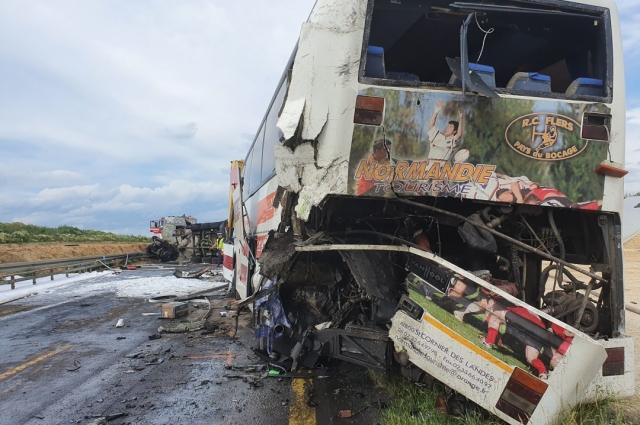 В Польше автобус с украинцами попал в ДТП: травмированы 16 человек