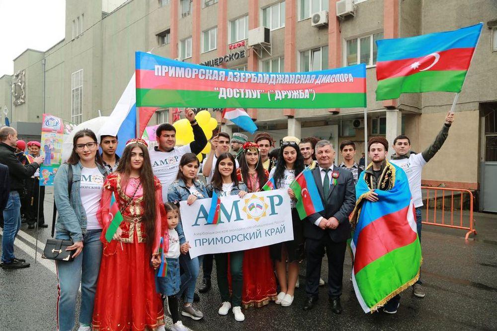 Азербайджанская диаспора в крае всегда активна.