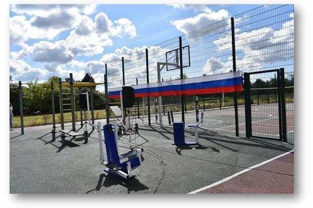 Открытая спортивная площадка в с. Медведово