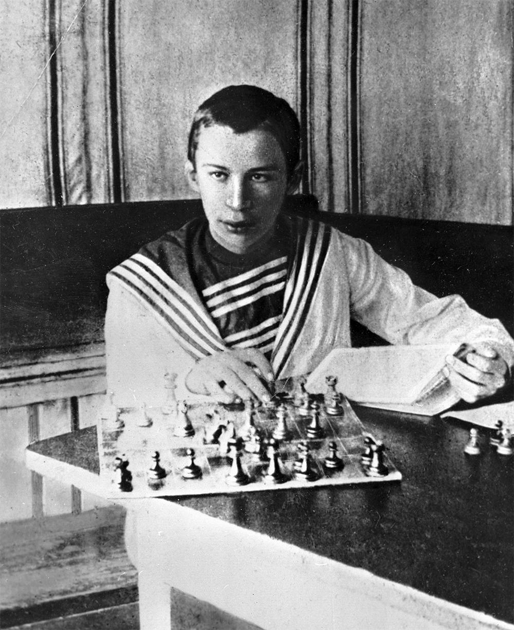 Композитор Сергей Прокофьев. 1905 год.