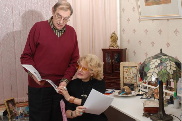 Светлана Дружинина и Анатолий Мукасей