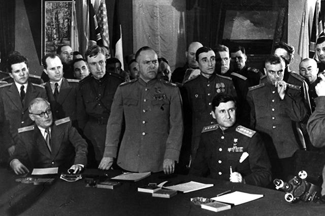 Советская делегация
