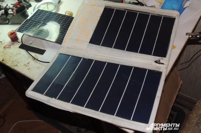 Солнечная батарея Дмитрия по цене в пять раз ниже зарубежных аналогов