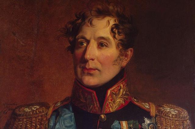Портрет Михаила Андреевича Милорадовича работы Джорджа Доу.