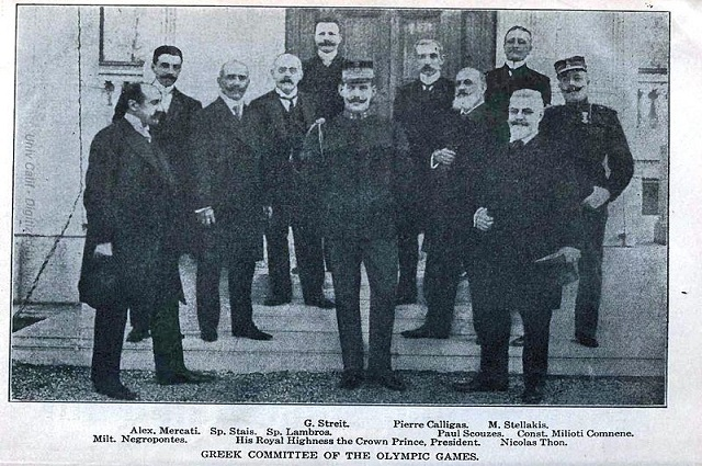 Организационный комитет Олимпиады 1906.