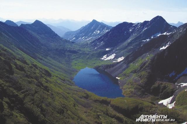 Хакасию многие считают землёй степей.