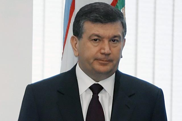 Премьер-министр Узбекистана Шавкат Мирзияев.