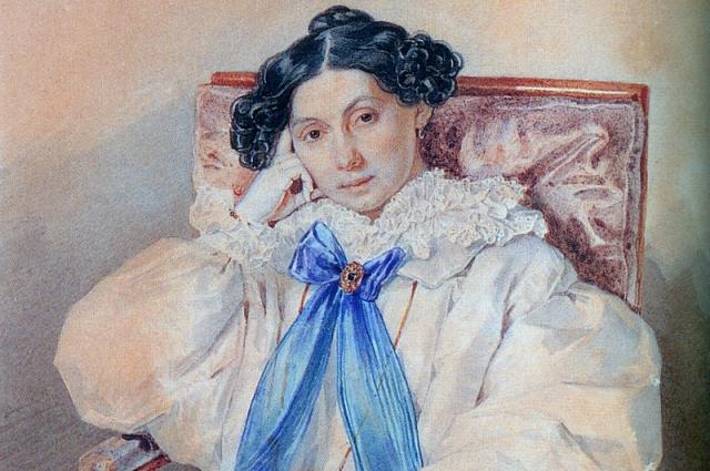 Третья дочь фельдмаршала Михаила Илларионовича Кутузова в молодости была завидной невестой.