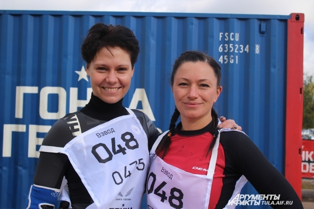 Светлана Фролова и Наталья Чурова