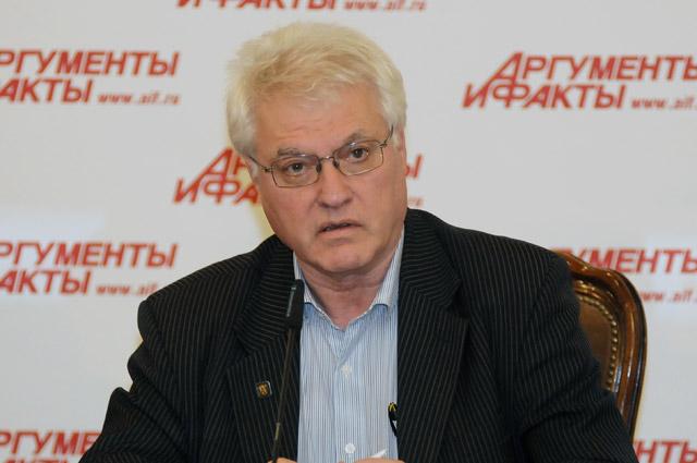 Профессор Владимир Гагарин.