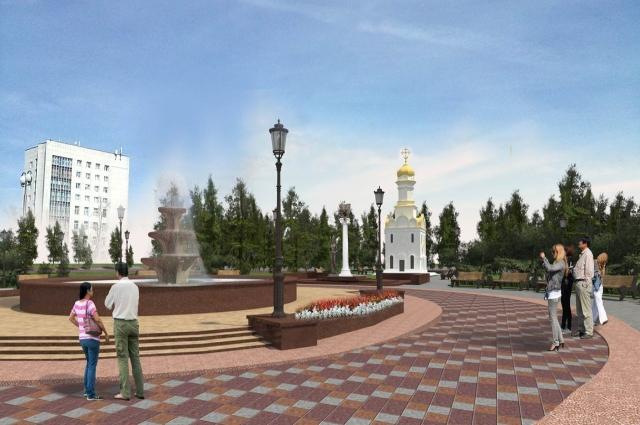 Такой по планам РПЦ должна стать Новособорная площадь.