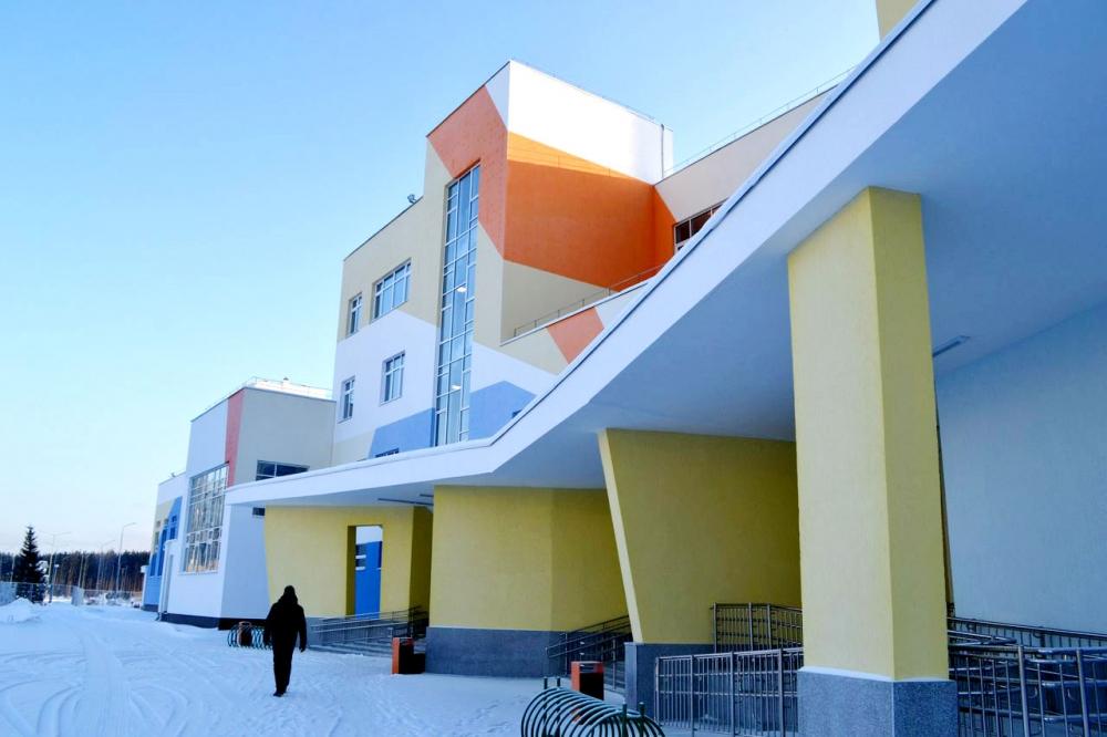Несмотря на молодость, новый район Екатеринбурга отличается развитой инфраструктурой.