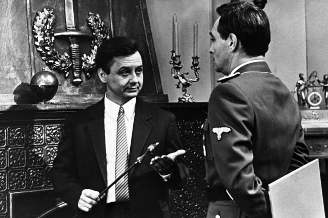 Олег Табаков в роли Шелленберга. 1973 г.