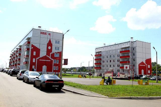 Новая 5-этажка в г. Лесосибирске Красноярского края, 2017 г.