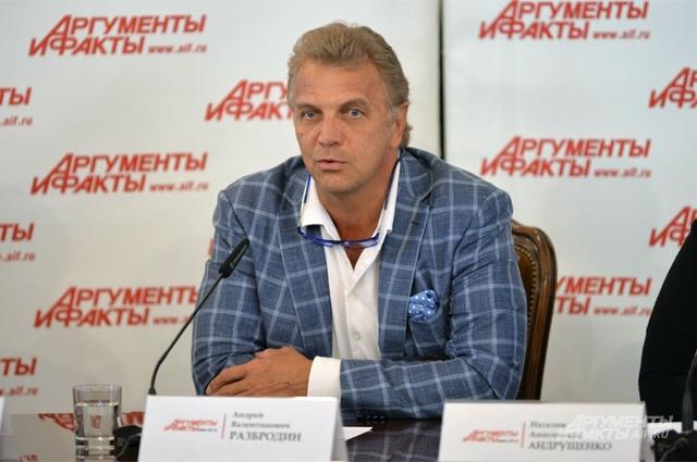 президент СОЮЗЛЕГПРОМа Андрей Разбродин.