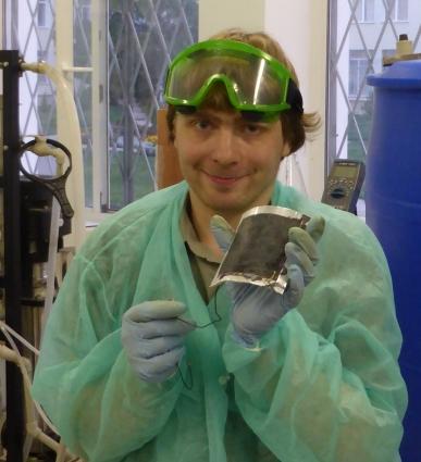 Дмитрий Лопатин-автор трёх патентов, лауреат Зворыкинской премии, победитель конкурсов «Энергия Молодости», IQ-года