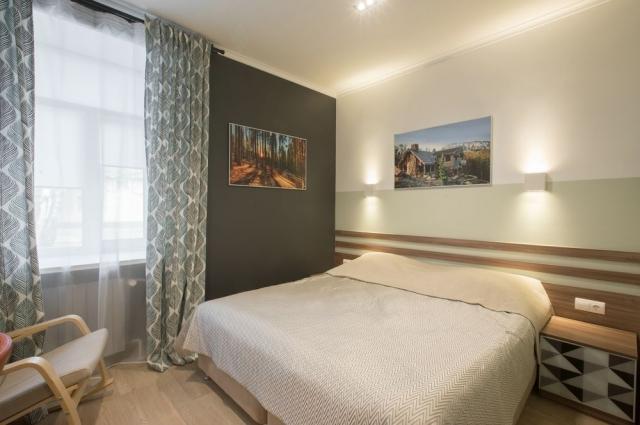Комнаты уютные и комфортные.