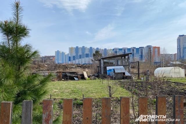 За последние несколько лет Кемерово сильно изменился, на месте частных домов выросли новые кварталы.