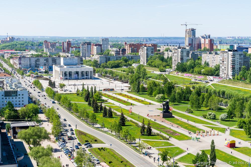 Одно из самых красивых мест Перми, на его взгляд, – это, безусловно, центр города.
