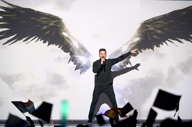 Сергей Лазарев на «Евровидении-2016».