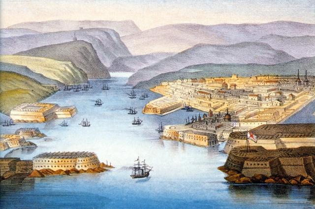 Изначально корабельный состав Черноморского флота был невелик.