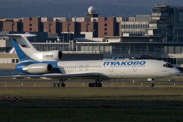Ту-154М борт RA-85185 за 2 года до катастрофы.